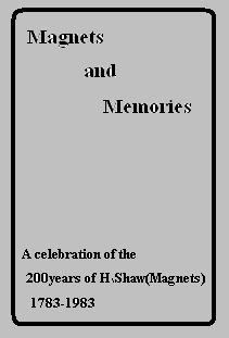 Magnets and Memories by E.F. Horton